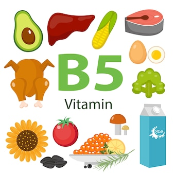Informazioni sui benefici per la salute della vitamina b5