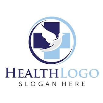Logo sanitario e medico