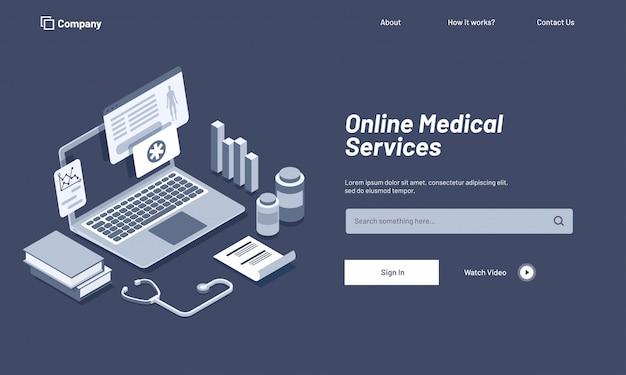 Concetto di salute e medicina.