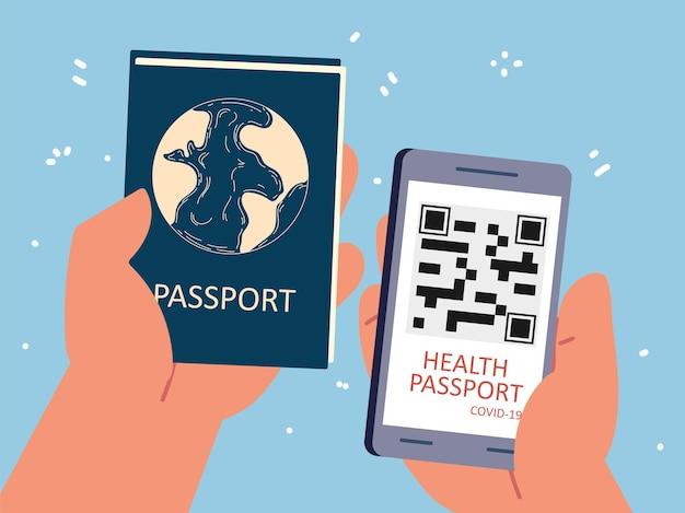 App passaporto sanitario
