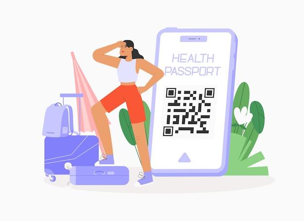 Applicazione mobile passaporto sanitario