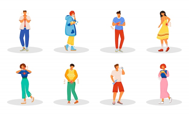 Set di caratteri problemi sanitari