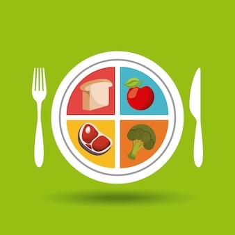 Cibo sano per la dieta
