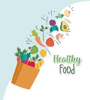 Drogheria di cibo sano