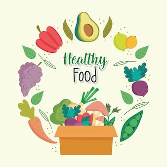 Mercato alimentare sano