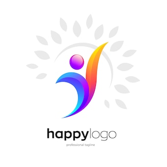 Logo umano sano