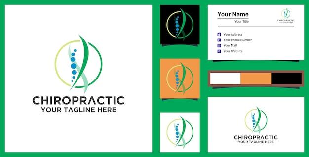 Logo healthy life e biglietto da visita premium