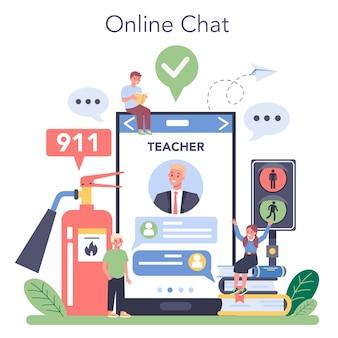 Servizio o piattaforma online di classe stile di vita sano