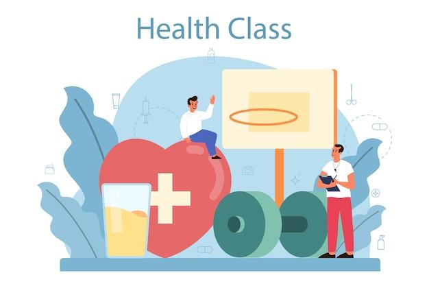 Classe di stile di vita sano.