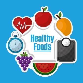 Stile di vita sano dieta nutrizione
