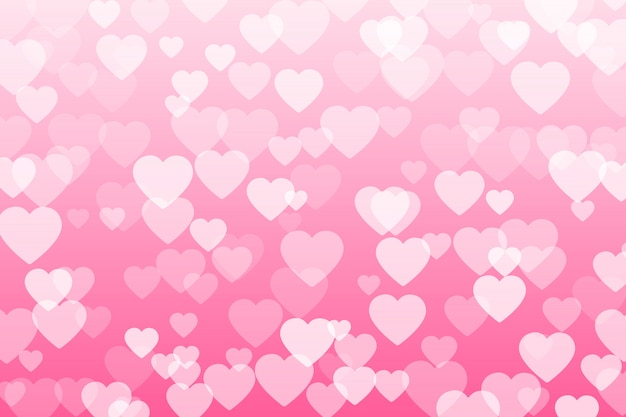 Coriandoli del cuore dei petali dei biglietti di s. valentino che cadono su fondo trasparente.