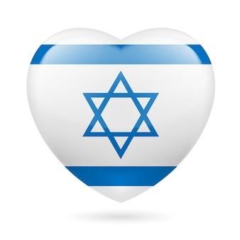 Icona del cuore di israele