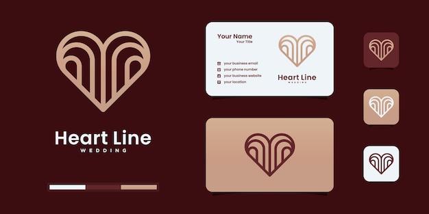 Elementi del modello dell'icona del simbolo del cuore. concetto di logotipo di assistenza sanitaria. icona del logo di incontri. modello di progettazione.