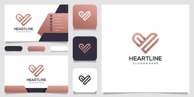 Elementi del modello icona simbolo del cuore. concetto di logo di assistenza sanitaria. datazione icona del logo