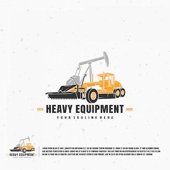 Logo di attrezzature pesanti