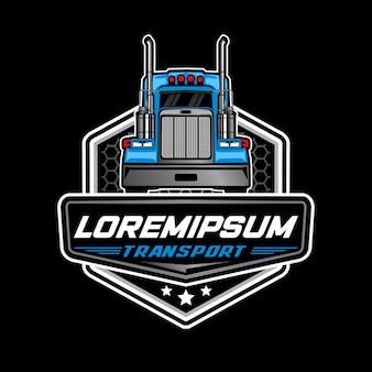 Logo del camion pesante