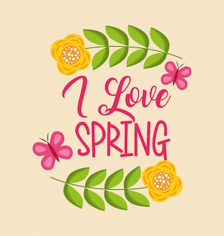 Ciao scheda di primavera