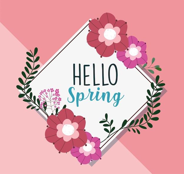 Ciao frase di primavera