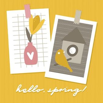 Ciao primavera carte stagionali.