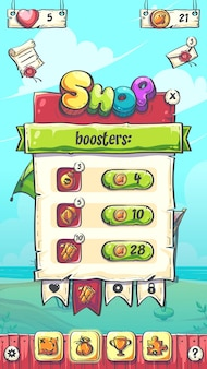 Hello summer puzzle lo schermo di gioco dei booster