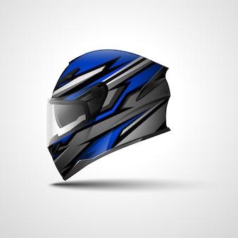 Design avvolgente sportivo da corsa per casco