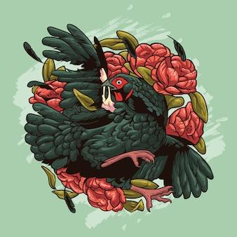 La gallina soffre