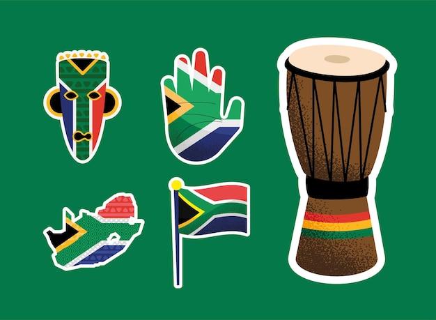 La giornata del patrimonio ha impostato cinque icone