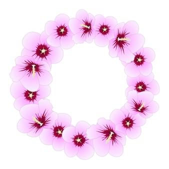 Hibiscus syriacus - rose of sharon wreath
