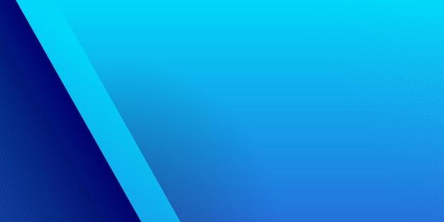 Strisce lucide blu scuro e chiare ad alto contrasto. progettazione grafica astratta della bandiera di tecnologia.