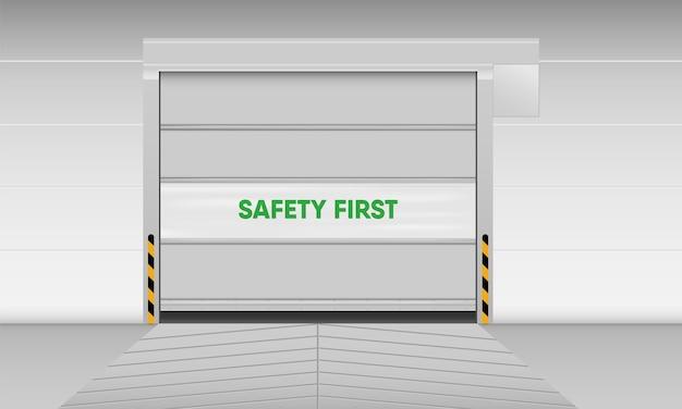 Porta avvolgibile in pvc ad alta velocità, porta otturatore