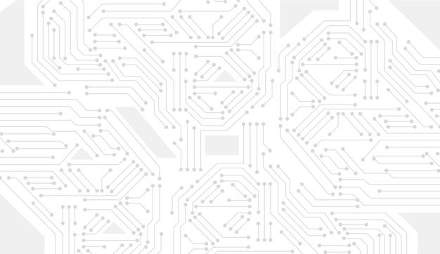 Sfondo di tecnologia ad alta tecnologia. illustrazione di disegno vettoriale del circuito.