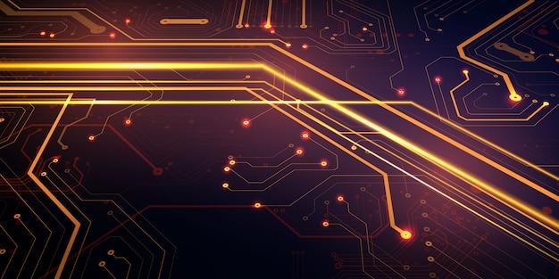 Concetto digitale di alta tecnologia di progettazione moderna. trama di sfondo astratto