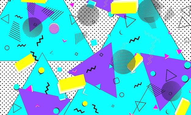 Opera d'arte ultramarina hipster. disegno divertente viola. stampa carina. volantino limone. design a macchie. sfondo minimale viola. poster azzurro. modello di cartone animato.