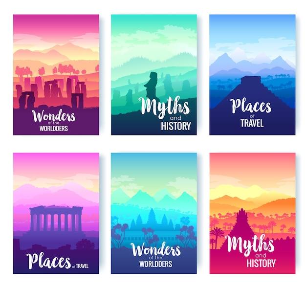 Luoghi storici per viaggiare insieme di opuscoli