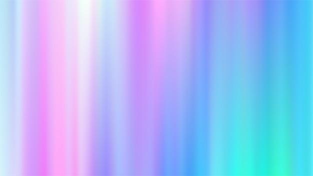 Sfondi olografici gradiente maglie.