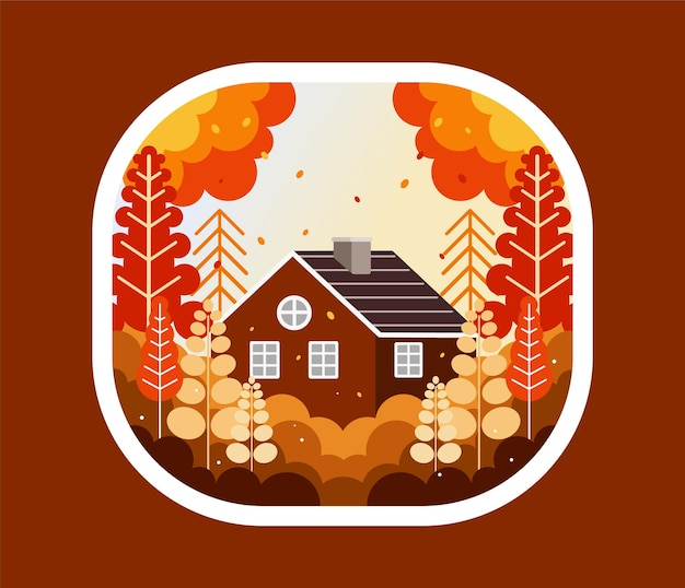 A casa in autunno