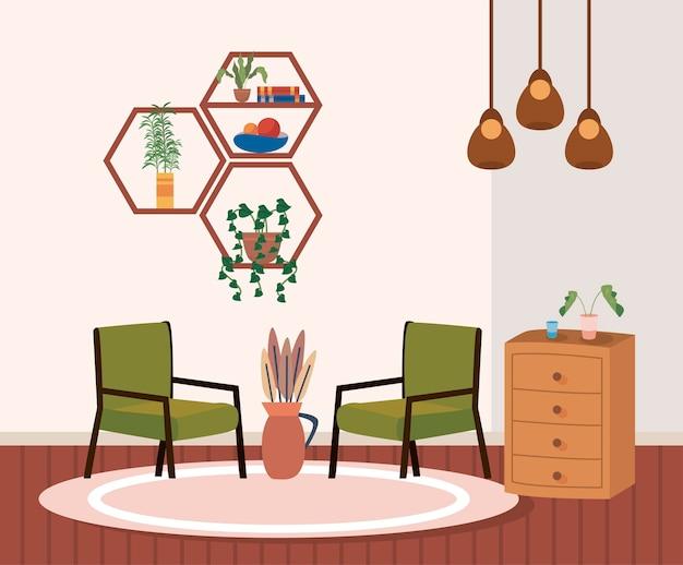 Sedie e mobili per la casa