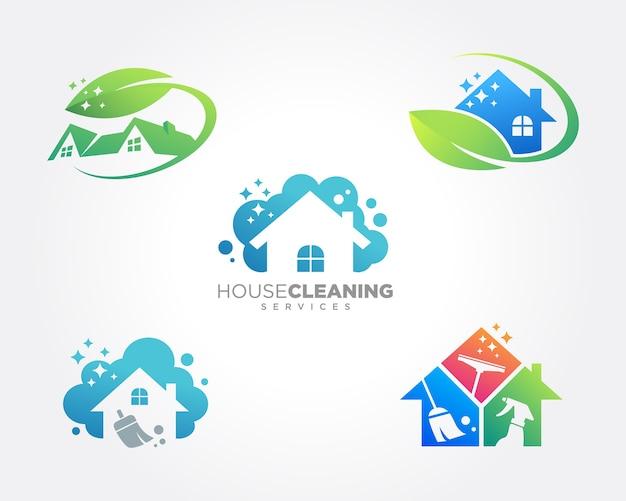 Servizio di pulizia della casa business design