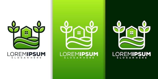 Design del logo della fattoria domestica
