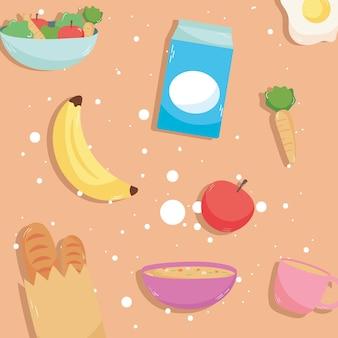 Modello di cibo domestico