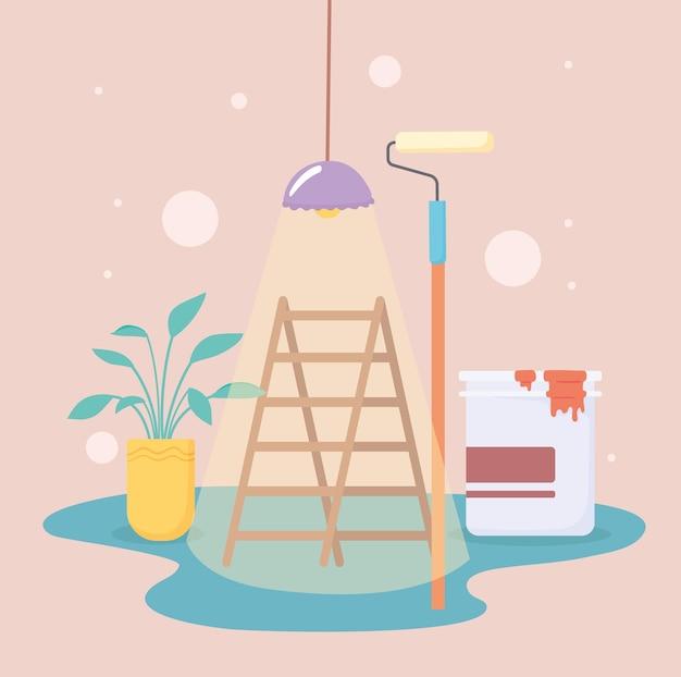 Miglioramento della casa e decorazione