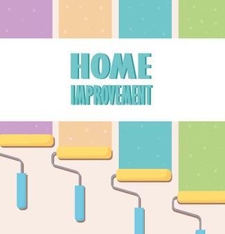 Vernice per il miglioramento della casa