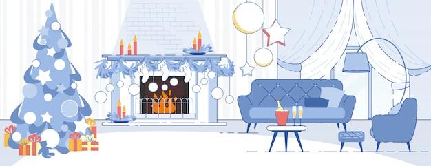 Decorazioni natalizie per interni domestici