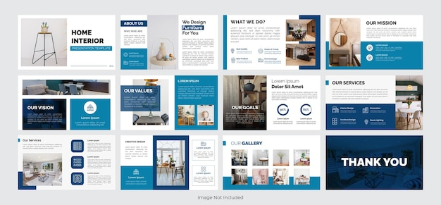 Modello di presentazione dell'interno della casa