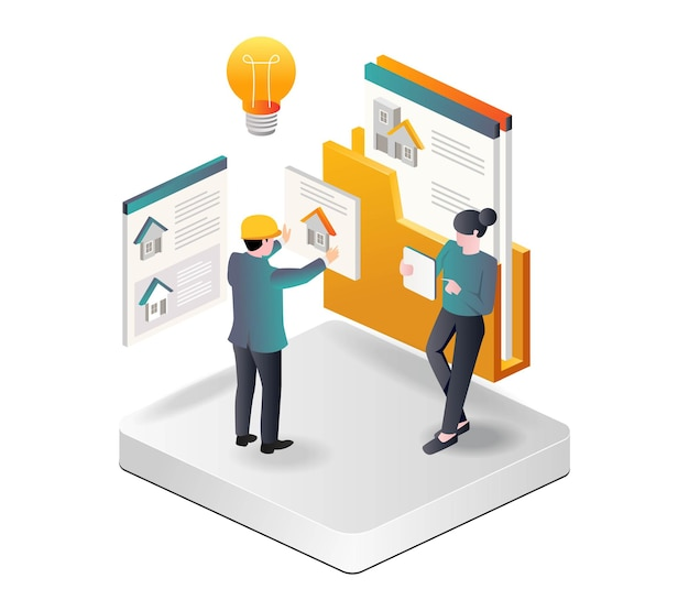 Investitori domestici che scelgono i design tramite e-mail