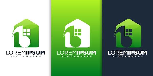 Design del logo della musica per la casa
