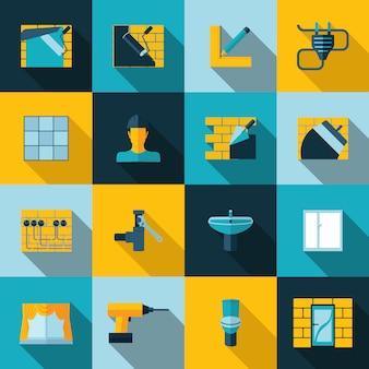 Icone di riparazione a casa
