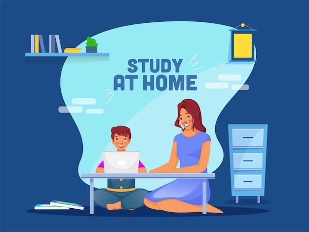 Concetto di istruzione domestica