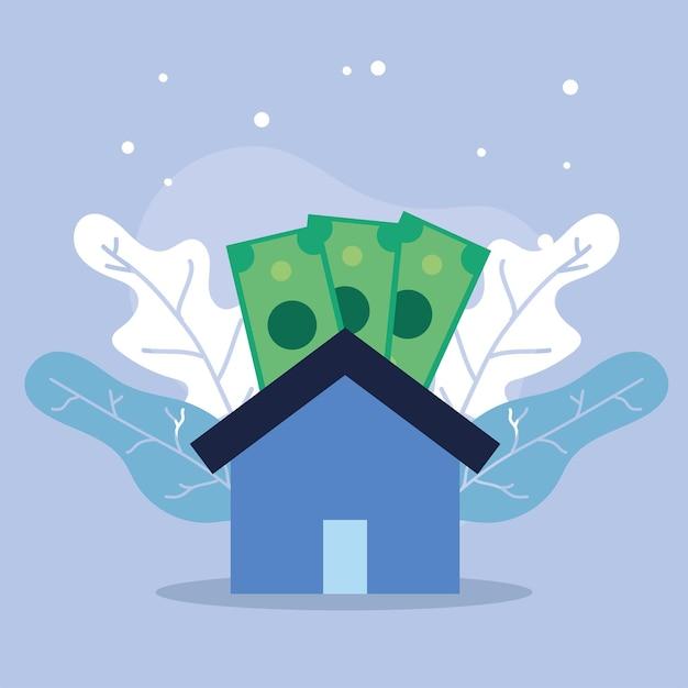 Casa con le bollette immobiliari