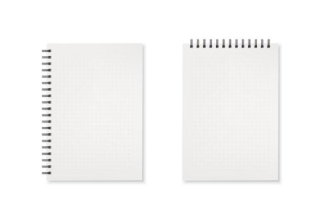 Modello orizzontale e verticale dell'illustrazione del diario